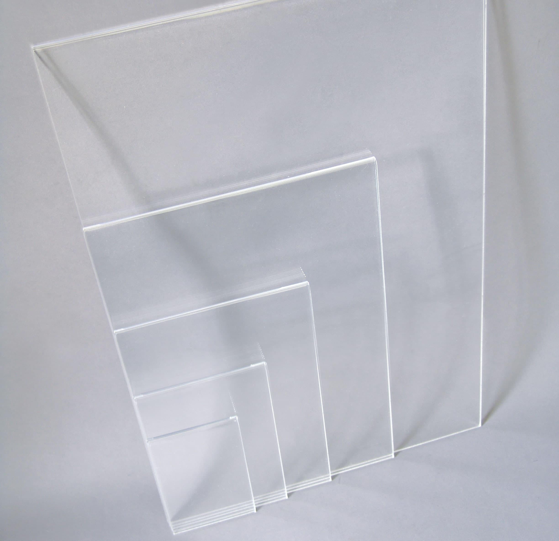 Divisori In Plexiglass Per Esterni tasca portainformazioni per espositore da banco